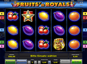 777 автомат Fruits and Royals