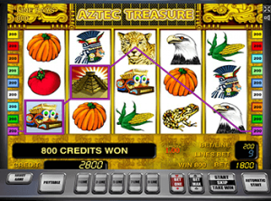 777 автомат Aztec Treasures 3D онлайн